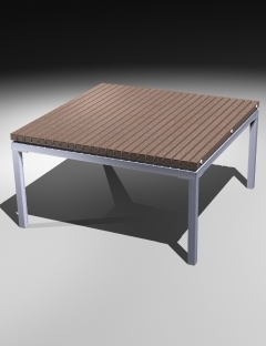 Square Coffee Table 480H 方形茶几